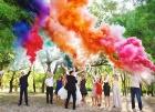 Цветной дым для свадьбы в Йошкар-Оле
